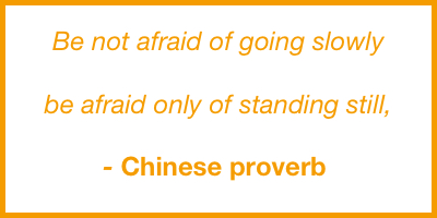 Mental Health - Chinese proverb